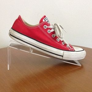 Converse All Stars Womens Sneakers Red Size 7